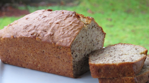 My Mother 39 S Kitchen Banana Nut Bread Gazing In
