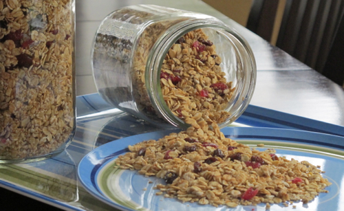 7 Days of Granola Recipes