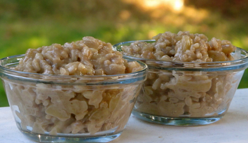 Caramelized Apple Ginger Rice Pudding Archives - Gazing In