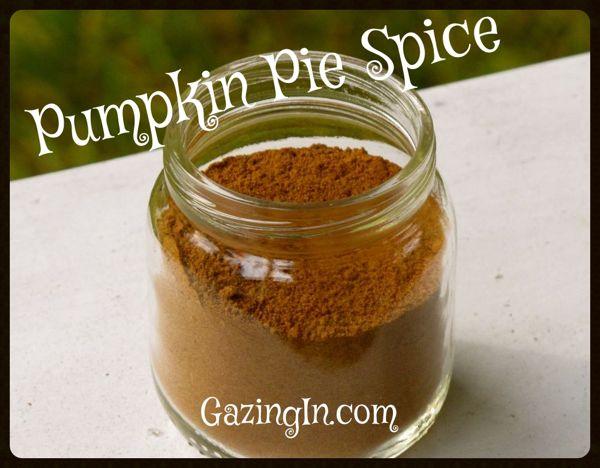 Pumpkin Spice Season: Pumpkin Spice Blend