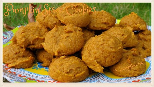 Pumpkin Spice Season: Pumpkin Spice Cookies (GF/V/A)
