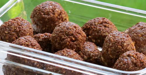 Raw Sunflower Honey Balls