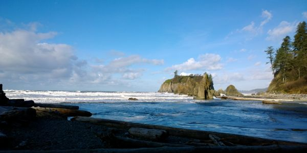 A Walk To Ruby Beach