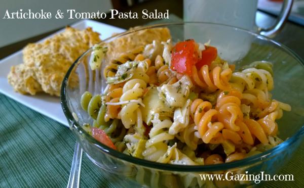 Artichoke & Tomato Pasta Salad