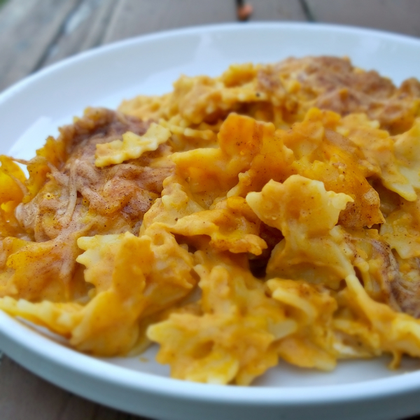 Baked Pumpkin Mac 'N Cheese