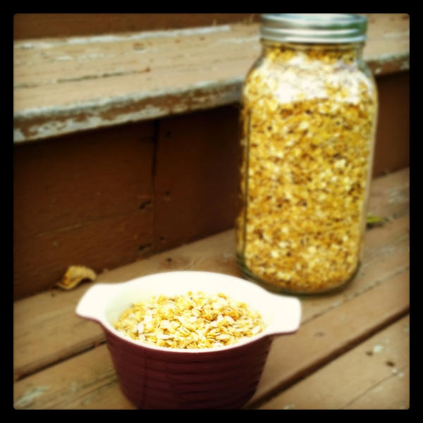 Sunflower Granola
