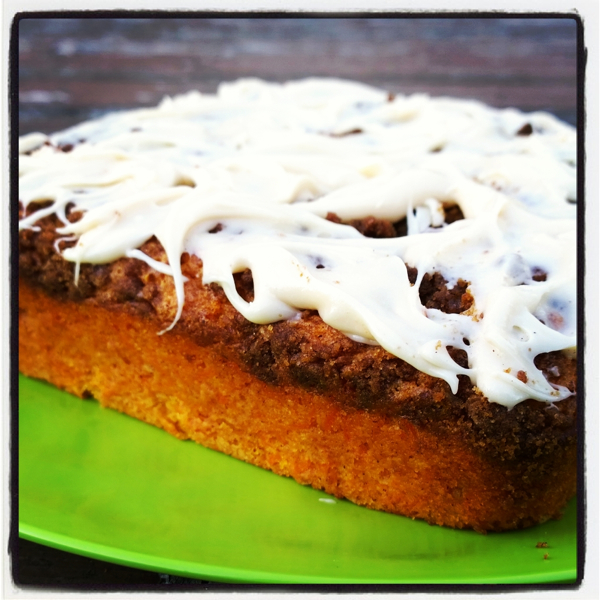 Carrot Cake Coffee Cake – From Dessert Mash-Ups