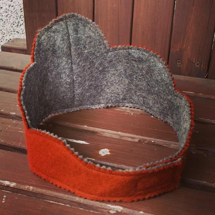 DIY Wool Felt Crowns