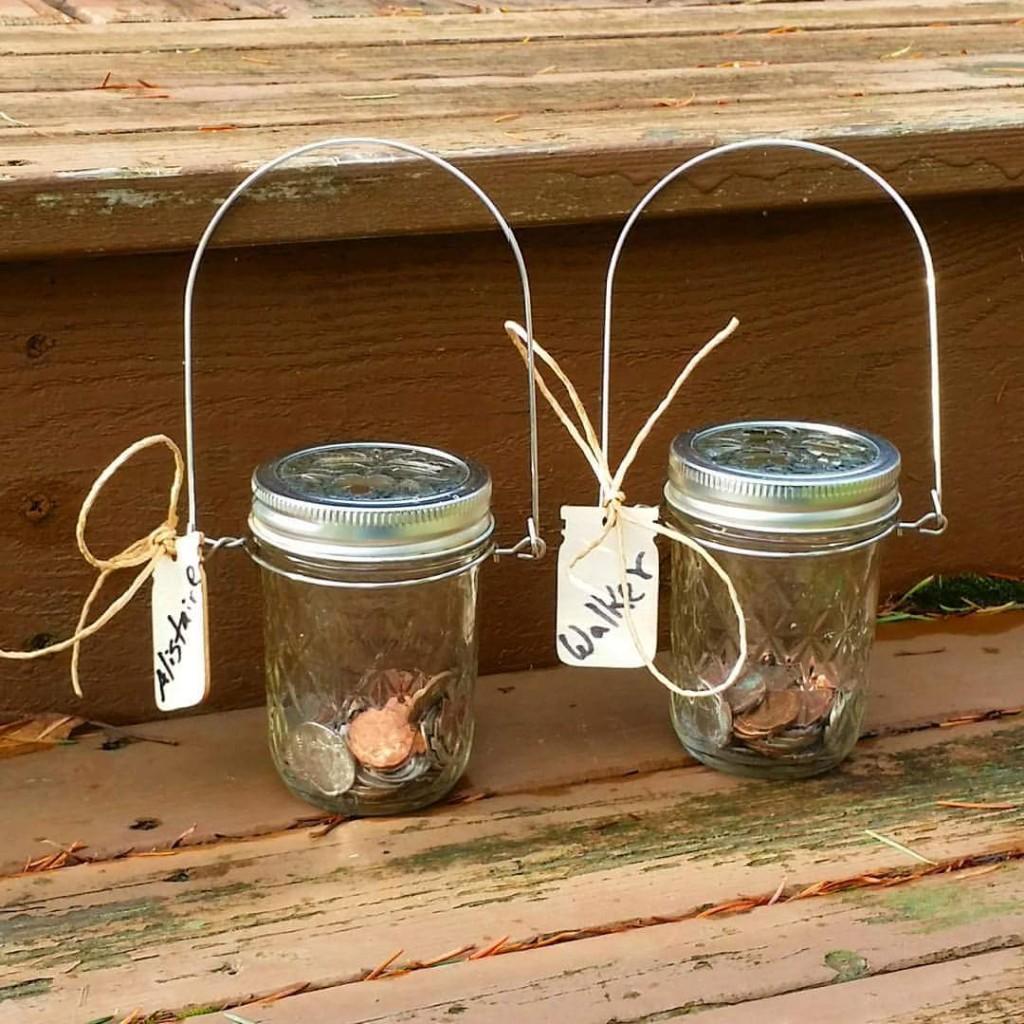 Crafting Little Treasure Jars