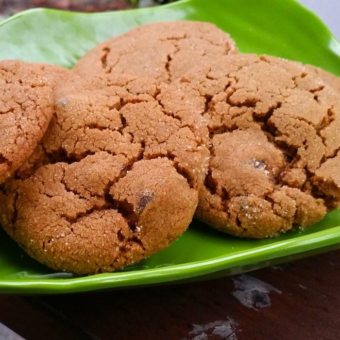 Double Ginger Cookies - Gazing In