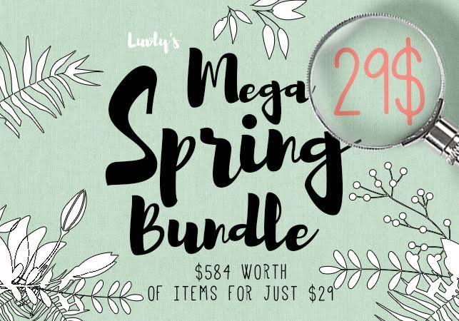 Luvly's Mega Spring Bundle Giveaway