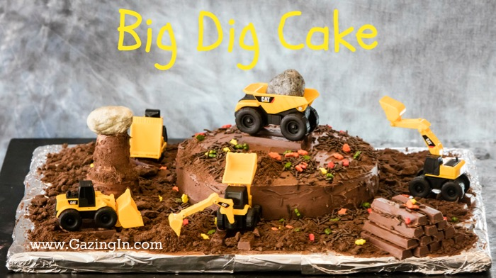 The Big Dig Birthday Cake