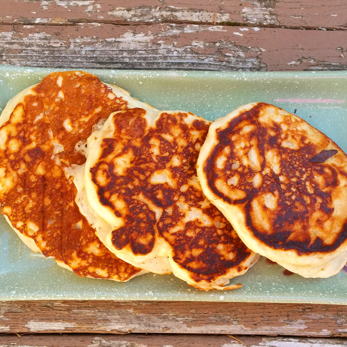 Oatmeal Yogurt Pancakes