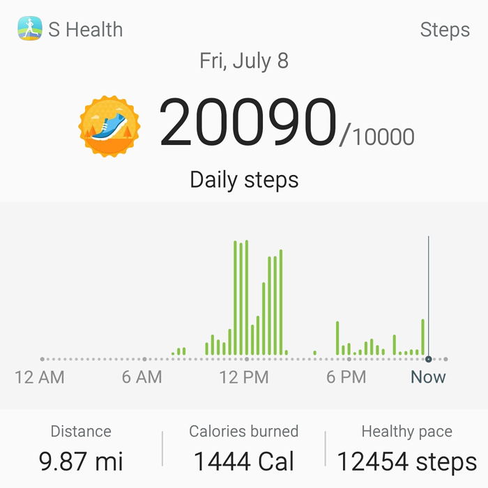 200 Days of Walking