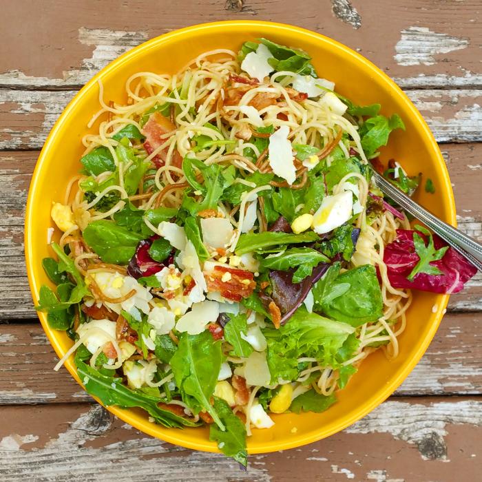 Pasta Carbonara Salad
