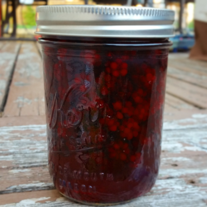 Cold Pack Sweet Canned Blackberries