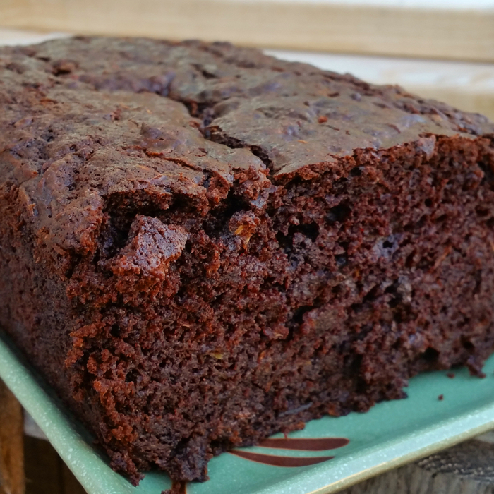Chocolate Chocolate Zucchini Bread