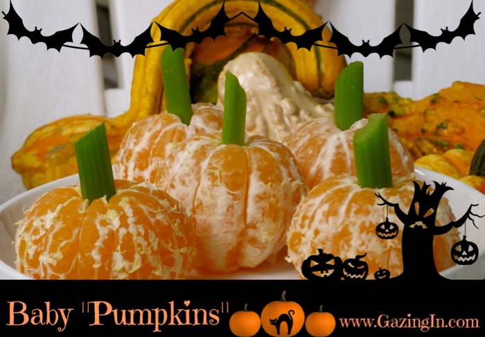 Halloween Edible Wee Pumpkins