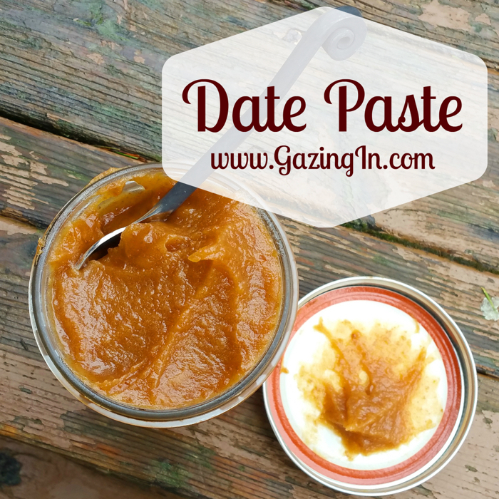 Date Paste: A Natural Sweetener