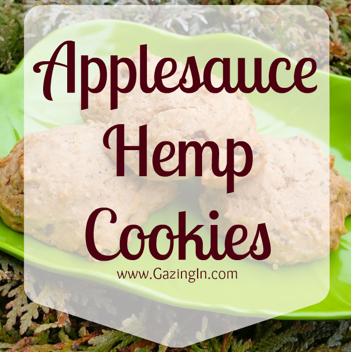 Super Soft Applesauce Hemp Cookies