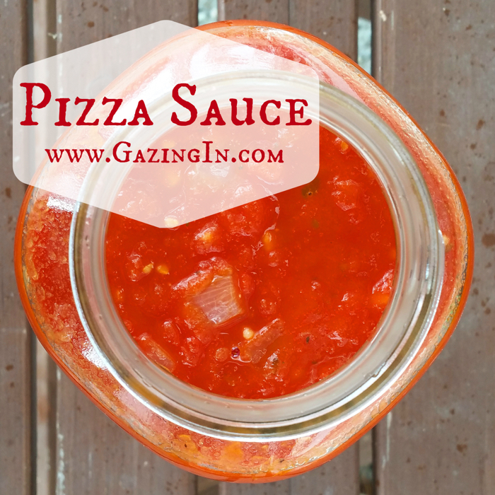Handcrafted Pizza Sauce