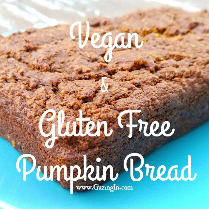 Vegan & Gluten Free Pumpkin Bread